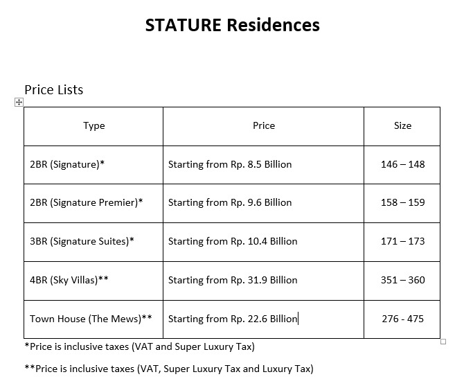 harga-the-stature
