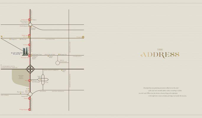 Peta Lokasi Abode Sudirman
