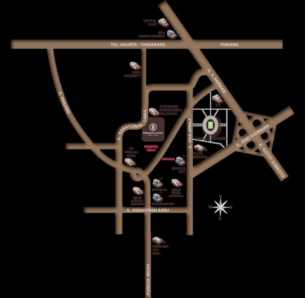 Permata-Hijau-Suites-Lokasi