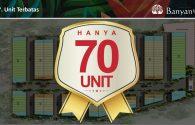 Jual Rumah Cluster @ Banyan House Oasis Cikarang – Rp 555 juta